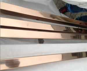 d510f3a0f39 ... Quality high quality decorative stainless steel pipe square tube with  gold or rose gold for sale ...