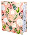 Custom Size Wedding Planner And Organizer Lined Inner Printing Beautiful Cover