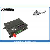 1W RF UAV Video Link Transceiver TDD - COFDM Wireless Image Sender and Receiver Lightweight