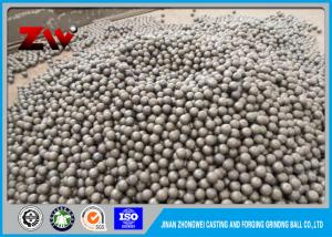 China 40mm 60Mn steel rolling steel balls , Ball Mill forged steel grinding balls on sale
