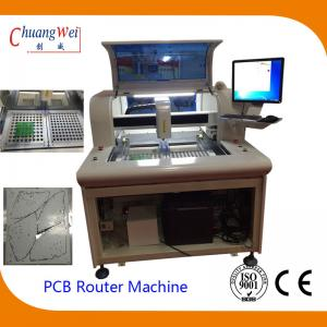 China PCB Depaneler PCB Routing Machine with Windows 7 Operation System on sale