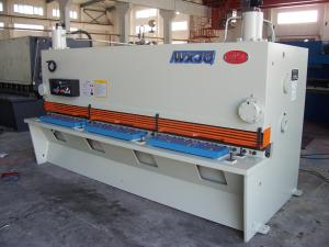 China Hydraulic Cnc Guillotine Shearing Machine In Metal Plate Or Iron Sheet Cutting on sale