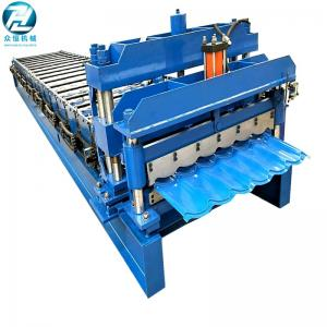China Custom Color Iron Metal Steel Roll Forming Equipment 380V 50Hz 3 phases Voltage on sale