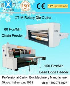China La máquina que corta con tintas rotatoria de la caja del cartón para la etiqueta engomada y la etiqueta, Digital muere cortador on sale