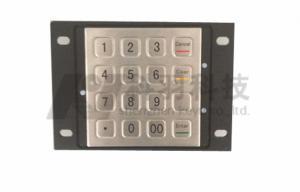 China 3DES ATM Kiosks Encrypted Pin Pad PCI 3.0 Vandal Resistant on sale