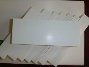 China Customized Plastic Coated Foam Board , Outdoor Foam PVC Sheet High Impact on sale
