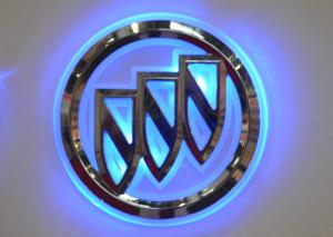 China Buick Car Badges Logos/Lamp Blue color on sale