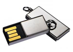 China Cute Mini USB 2.0 Flash Drive / Computer Memory Stick With Small Keyring on sale