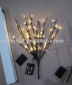 China LED Battery Branch Light 20 60LED Christmas branch light wedding table decoration branch on sale