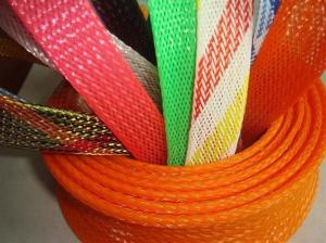 China Promotional PET Expandable nylon mesh cable sleeve RoHS UL Certificate on sale