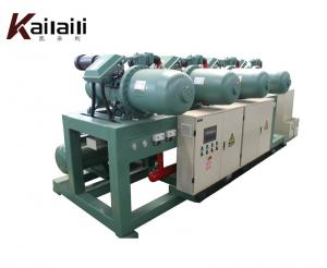 China Chinese Manufactory Low Temperature  Single Screw Compressor Condensing Unit on sale