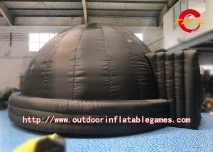 China Giant Portable Planetarium Inflatable Dome Tent Black For Advertising / Campaign on sale