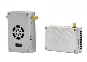 China Helicopter Video And Data Full Hd Wireless Transmitter Receier 1000mw With Strong Case on sale