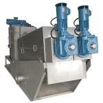 Sewage Treatment Sludge Dewatering Machine Automatic Wastewater Screw Press