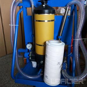 China Hydraulic filtration unit pall oil filter cart PFC8314-100 on sale