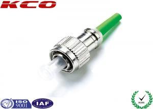 China Duplex Fiber Optic Connectors FC / APC Type Flame Retardant Boot For Optics Fiber Cable on sale