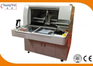 China PCB Depanelizer PCB Router Machine with Smart Software Gerber Imported Function on sale