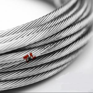 316 Stainless Wire | 316 Stainless Steel Wire Rope 1x19 8mm Stranded Wire For Sale