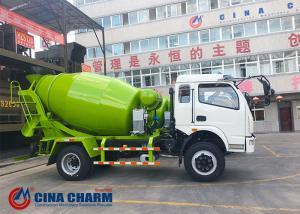 China 6m3 Concrete Mixer Truck , Concrete Transit Mixer Euro III Standard on sale