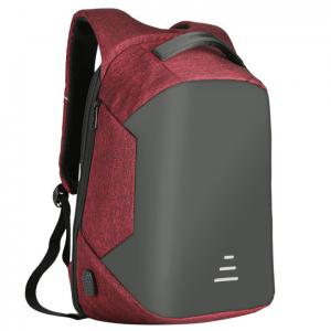 China Waterproof Students Work Daypack Anti-theft Travel Backpack Business Laptop School Book Bag with USB Charging Port on sale