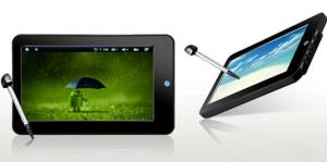 China Google Android 2.1 Touch Screen Tablet Notebook  on sale