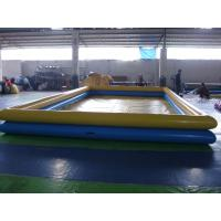 China 2 Layers Height Inflatable Swimming Pool , Plastic Swimming Pools For Adults on sale