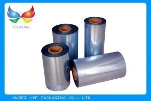 China o PVC do psiquiatra do encolhimento 45mic de 53% etiqueta o filme Rolls para o calor - faixas shrinkable on sale