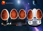 3 cabina del cine de la realidad virtual 9D VR de Seat 360 para la montaña rusa
