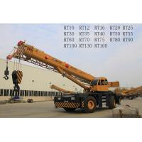 China Bridge Construction Use Boom Truck Crane With 360° Unlimited Swing RT70U RT70E on sale