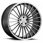 "18"" thin spoke 1 piece forged aluminum felgen vehicle wheel rim"