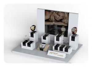 China Custom L Shape Luxury Watch Display Stand , Watch Display Case TDS-013 on sale