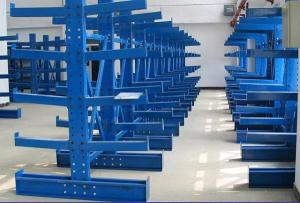 China Single / Double Side Cantilever Bar Racks For Irregular Materials Fixed Mobility on sale