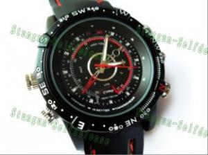 Quality 防水スポーツはTFカードの上の腕時計のカメラ サポートを調査します for sale