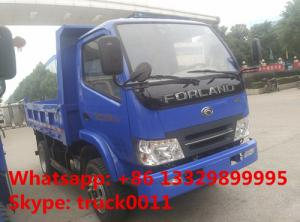 China Forland 4 4*2 5tons small dump truck , cheapest price China brand 2016s new forland brand LHD/RHD dump tipper trucks on sale