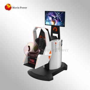China Immersive Virtual Reality Chair VR Motion Simulator 9D 360 Degree Rotating on sale