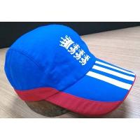 2019 New Style 100% Cotton Golf Cap , Navy And Red Fitted Golf Hats Waterproof
