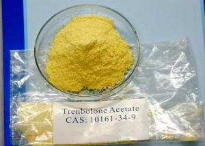 China Injectable Yellow Powder Trenbolone Steroids Acetate 99% Purity For Lean Muscle 10161-34-9 on sale