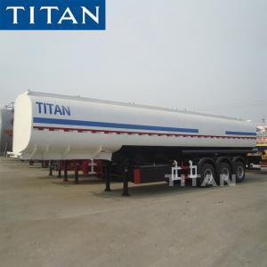 China 3/4 axles 47000/50000 Liter Oil Tanker Semi Trailer water tank trailer Fuel Tank Trailer on sale