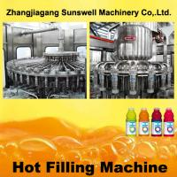 China PET Bottle Hot Filling Machine 5000BPH - 20000BPH With 500 L/Min Air Consumption on sale