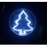 Christmas Tree Solar Garden Lights Solar Inground Lights with Stake Mount on Ground Solar Light for Season Holiday Decor