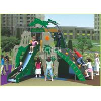 Coconut island type out door playground with slide and climbing function for kids