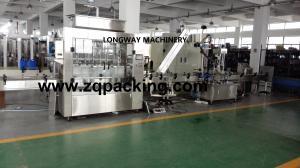 China Automatic Antifreezing Solution Bottling Machine / Filling Machinery on sale
