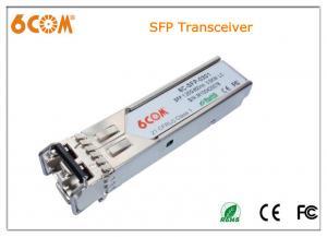 China Compatible optical fiber transceiver 120KM , 1550nm ethernet sfp transceiver on sale