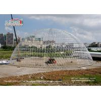 China Large Durable Steel Diameter 55m Geodesic Dome Tents for Luxury Outdoor Event on sale