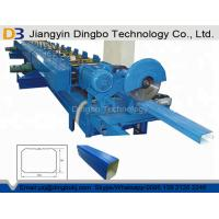 Hydraulic Cutting Gutter Downspout Machine With Elbow 8-12 M / Min Forming Speed