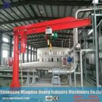MD Cranes 3ton- 5 ton Column Mounted Electric Jib Crane Installed with Electric Hoist