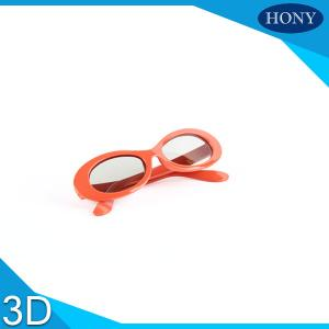 Quality ABS  Plastic Linear / Circular Polarized 3D Glasses For  Movies for sale