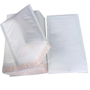 Quality Recycable Size #0 6x9  Strong Glue Self Sealing Kraft Bubble Envelopes bags for sale