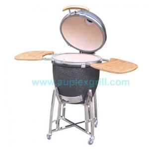 China Round bbq grill ceramic grill new kamado grill from Auplex Grill on sale