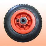 ゴム製固体車輪